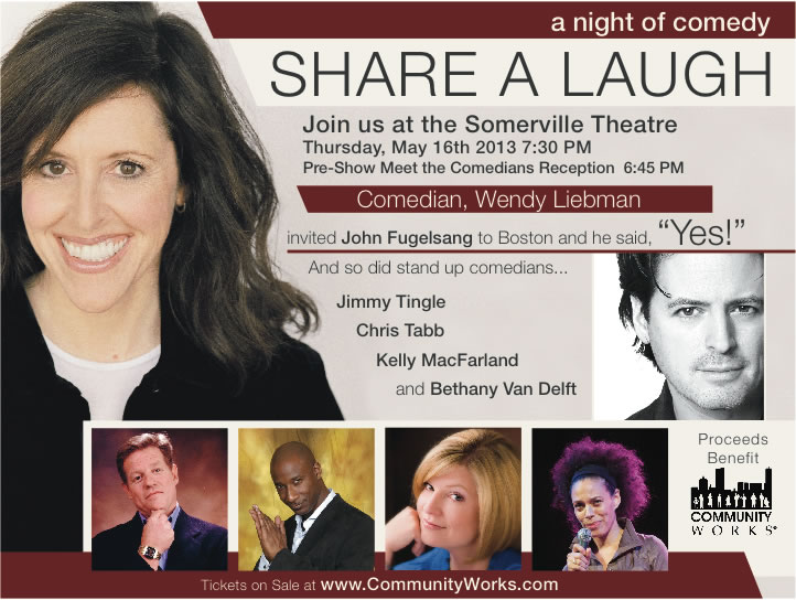 Share A Laugh Fundraiser