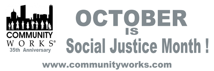 October is Social Justice Month